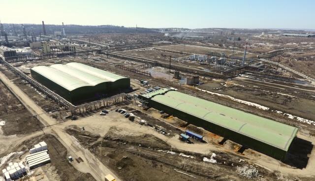Производственный корпус завода «SNF Flopam» Саратов
