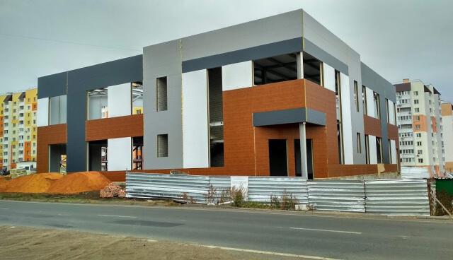 Строящийся объект коммерческой недвижимости в Саратове